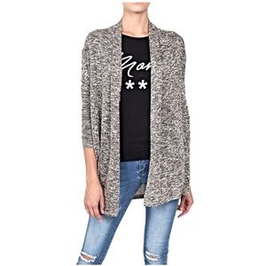 American Eagle Outfitters Open Front Knit Cardigan